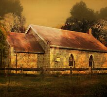 Dingup Church (1896), Manjimup, Western Australia by Elaine Teague