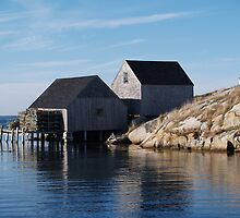 Peggy's Cove Inlet 2 by Darren Spidell