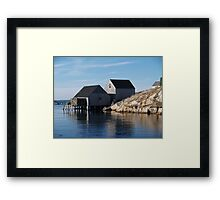 Peggy's Cove Inlet 2 Framed Print
