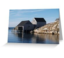 Peggy's Cove Inlet 2 Greeting Card