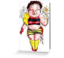 Bumble Fairy Greeting Card