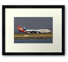 David vs Goliath Framed Print