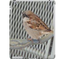 Sitting bird. iPad Case/Skin