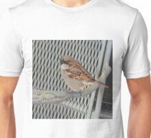 Sitting bird. Unisex T-Shirt