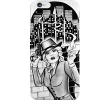 40s Noire Detective Homage iPhone Case/Skin