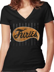 FURRIES  Women's Fitted V-Neck T-Shirt