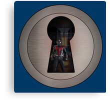 An Ant in the Keyhole Canvas Print