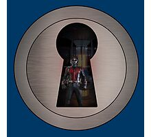 An Ant in the Keyhole Photographic Print