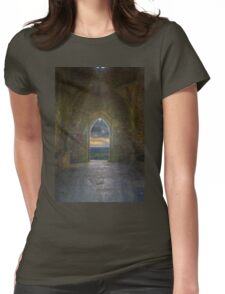 St Michael's Tower Womens Fitted T-Shirt