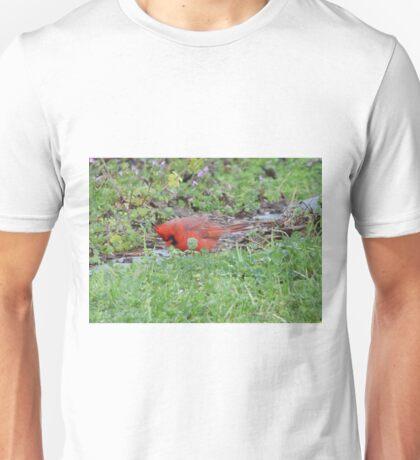 Hunting bird. Unisex T-Shirt