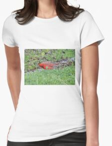 Hunting bird. Womens Fitted T-Shirt