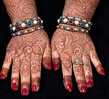 Henna and Hands by Mukesh Srivastava