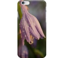 Blue Purple Bells iPhone Case/Skin