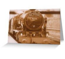 THE SCARBOROUGH SPA EXPRESS 2 Greeting Card