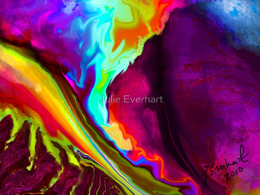 Lava Rush by Julie Everhart