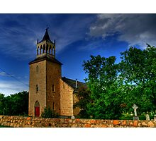 Saint Andrew's on the Red - A National Historical Site Photographic Print