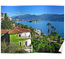 Isola Bella from Stresa Poster