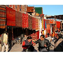 Moroccan Hustle. Photographic Print