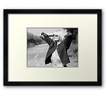 Hitchhiker??002 Framed Print