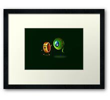 Lord of the Septic Eye Framed Print