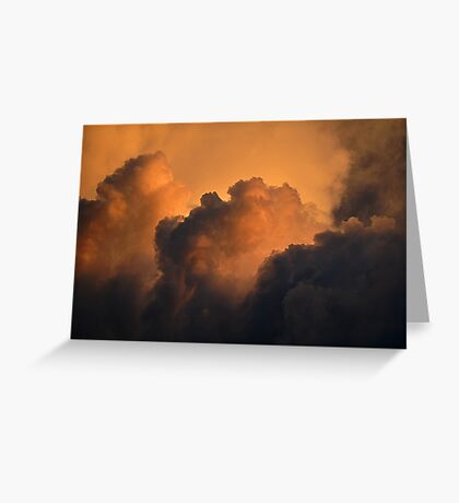 Rolling Thunder Clouds Greeting Card