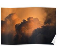 Rolling Thunder Clouds Poster
