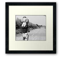 Hitchhiker??003 Framed Print