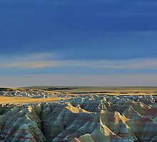 Western Rim of Mako Sica aka The Badlands by hastypudding