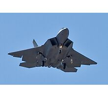 Eye to eye with the F-22 Raptor Photographic Print