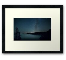 Acadian Milky Way Framed Print
