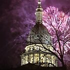Fireworks over the Capitol by russiannut