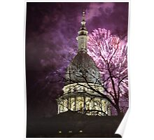 Fireworks over the Capitol Poster