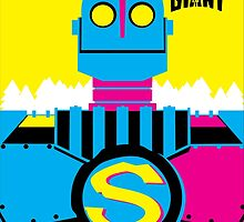 The Iron Giant - CMYK by graylions