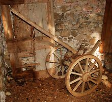 Old Farming Cart  by jojobob