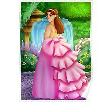 Pretty Pink Dress Poster