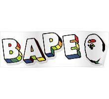bape color2 Poster