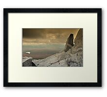 White Mountains  Framed Print