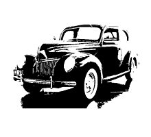 Ford V8 Deluxe Tudor Sedan 1939 by garts