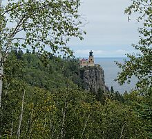 Split Rock Light House 100 years by pshootermike