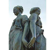 Muses of Hampton Court Photographic Print