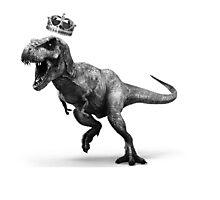 T-Rex Crown Photographic Print