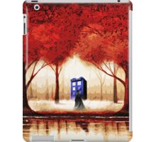 Blue Phone Box Cloud iPad Case/Skin
