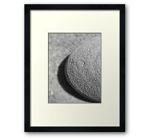 stone cold Framed Print