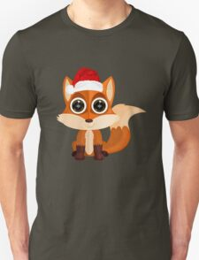 Christmas Fox (2) T-Shirt