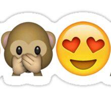 Happy Emojis Sticker