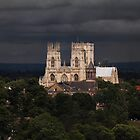 Clearing storm, York Minster by Dave Milnes