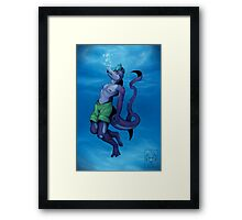 Breathing Fine Framed Print