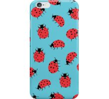 Ladybird Print iPhone Case/Skin
