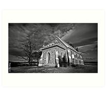 THE CHURCH - DALGETY NSW  AUSTRALIA - Art Print