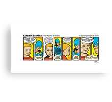 Mouths Of Babes - Captain RibMan Canvas Print